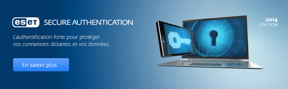 Promotion ESET Secure Authentication - 30%