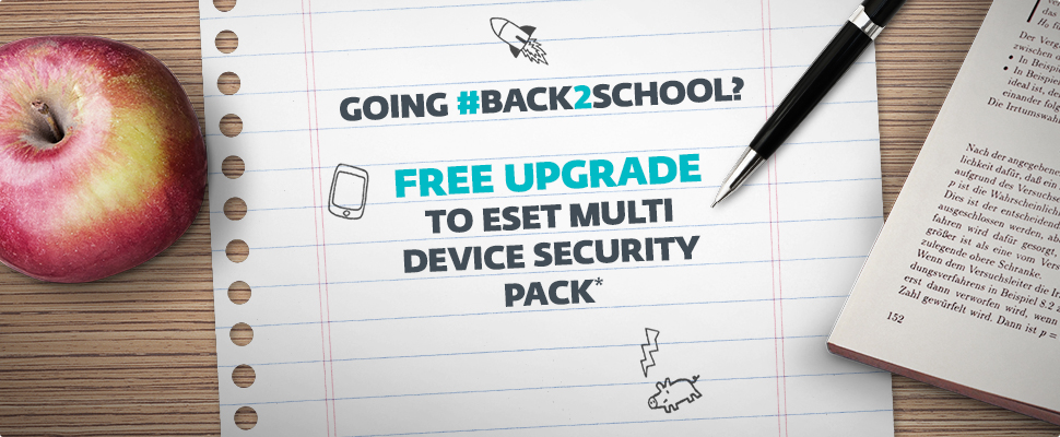 Goin #Back2School - FREE Upgrade to Multi Device Security