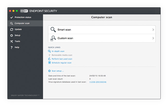 ESET Endpoint Security for OS X - Computer Scan