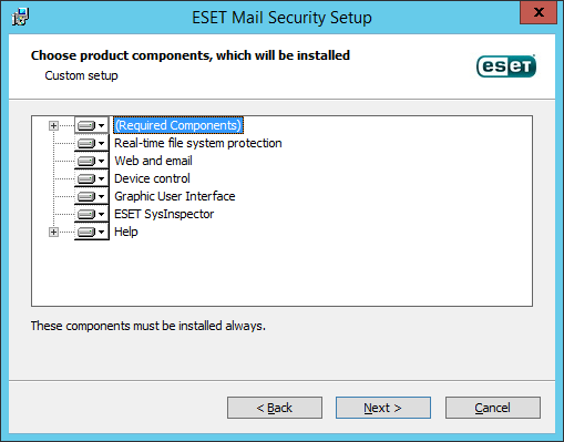 ESET Mail Security para IBM Domino
