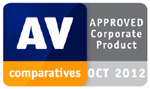 AV-Comparatives – Approved Corporate Product – OCT 2012