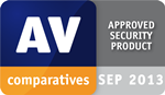 AV-Comparatives: Approved Security Product - SEP 2013