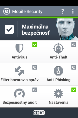 ESET Mobile Security pre Android