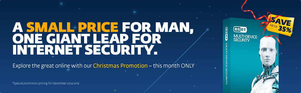 ESET Multi-Device Christmas Promotion